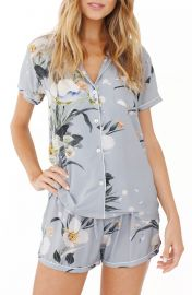 Plum Pretty Sugar Floral Short Pajamas at Nordstrom