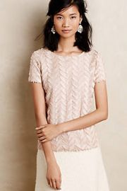 Plume Point Tee at Anthropologie