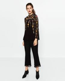 Plumetis Tunic at Zara