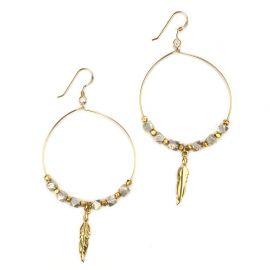 Pocahontas Earrings at Katie Dean Jewelry