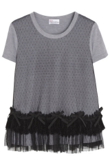 Point D Esprit Top by RED Valentino at Net A Porter