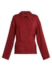 Point-collar blouse at Matches