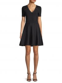 Pointelle Flare Dress at Saks Fifth Avenue