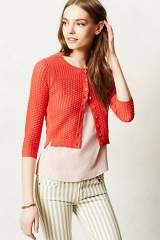Pointelle Cardgian by Sparrow at Anthropologie