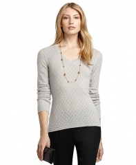 Pointelle Cashmere Sweater at Brooks Brothers