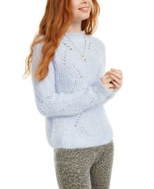 Pointelle Chenille Sweater at Macys