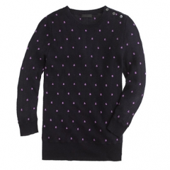 Pointelle Dot Sweater at J. Crew