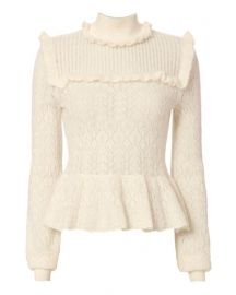 Pointelle Sweater by Intermix at Intermix