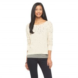 Pointelle Sweater by Mossimo Supply Co at Target