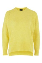 Pointelle sweater at Topshop