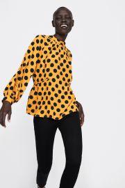 Polka Dot Blouse by Zara at Zara
