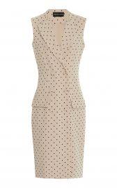 Polka Dot Double Breasted Vest at Moda Operandi