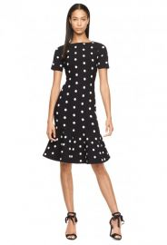 Polka Dot Mermaid Dress at Milly