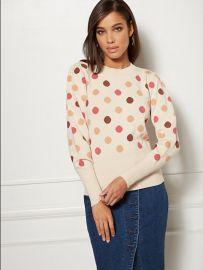 Polka Dot Sweater - Eva Mendes Collection at NY&C
