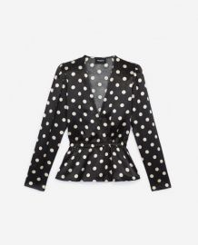 Polka Dot Top by The Kooples at The Kooples