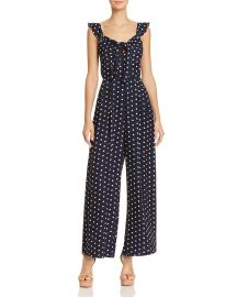 Polka Dot Wide-Leg Jumpsuit by Lucy Paris at Bloomingdales