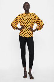 Polka-dot Blouse by Zara at Zara