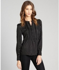 Polka dot blouse by Pippa at Bluefly