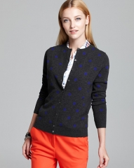 Polka dot cardigan by C by Bloomingdales at Bloomingdales