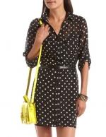 Polka dot dress like Alexs at Charlotte Russe