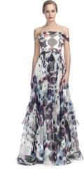 Polka dot gown by Carolina Herrera at Moda Operandi