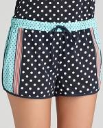 Polka dot pajama shorts by PJ Salvage at Bloomingdales