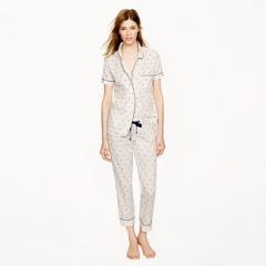 Polka dot pajamas at J. Crew