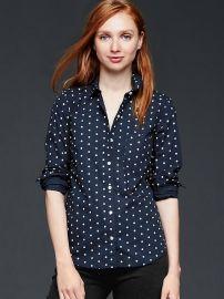 Polka dot shirt at Gap