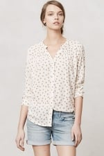 Polka dot shirt from Anthropologie at Anthropologie