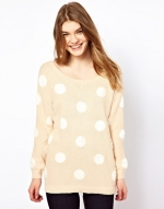 Polka dot sweater from Madewell at Asos