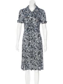 Polly Anna Silk Dress by Diane von Furstenberg at The Real Real