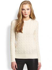 Polo Ralph Lauren - Cashmere Crewneck Sweater at Saks Fifth Avenue