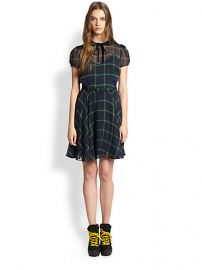 Polo Ralph Lauren - Silk Tartan Dress at Saks Fifth Avenue
