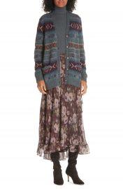Polo Ralph Lauren Alina Midi Silk Wrap Skirt at Nordstrom