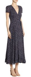Polo Ralph Lauren Floral Print Midi Dress at Saks Fifth Avenue