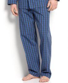 Polo Ralph Lauren Mens Harwich Plaid Pajama Pants - Pajamas Robes and Slippers - Men - Macys at Macys
