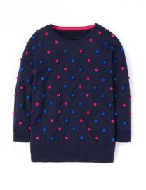 Pom pom sweater at Boden