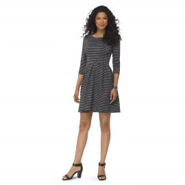 Ponte Fit and Flare Dress at Target