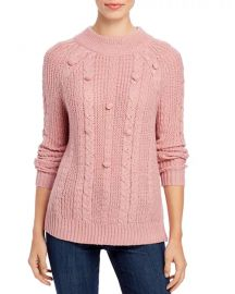 Popcorn-Stitch Sweater at Bloomingdales