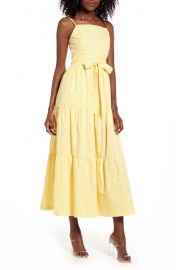 Poplin Maxi Sundress at Nordstrom