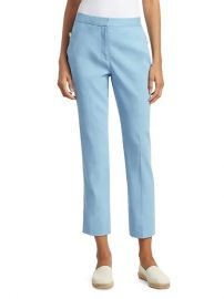 Poppy Linen-Blend Crop Trousers by Rag  Bone at Saks Off 5th