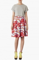 Portobellow calf skirt by Topshop at Nordstrom