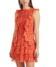Posey Floral Silk Minidress by Sir The Label at Barneys