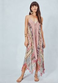Posey Sheer Paisley Dress at Love Stitch
