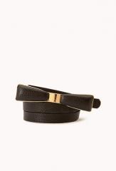Posh Bow Belt at Forever 21