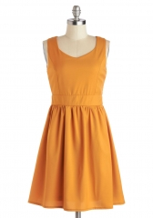 Posh Squash Dress at ModCloth
