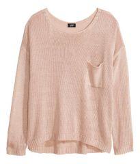 Powder pink sweater at H&M