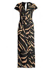 Prabal Gurung - Animal Print Wrapped Maxi Dress at Saks Fifth Avenue