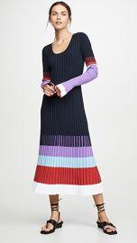 Prabal Gurung Scoop Neck Colorblock Dress at Shopbop
