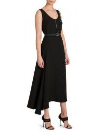 Prada - Asymmetrical Belted Dress at Saks Fifth Avenue